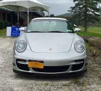 Fram av Porsche 911 Turbo 3.6 H6 4 480ps, 2007