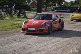 Front/Side of Porsche 911 GT3 RS 4.0 H6 PDK, 500ps, 2016 at Tisdagsträffarna Vikingatider v.25 / 2017