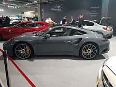Side  of Porsche 911 2017 at Warsawa Motorshow 2018