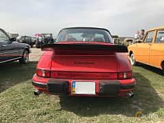 Back of Porsche 911 Carrera Targa 3.2 H6 Manual, 217ps, 1989 at Old Car Land no.1 2017