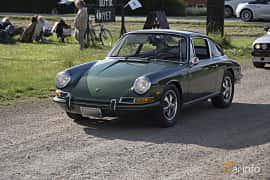 Front/Side  of Porsche 912 1.6 Manual, 90ps, 1968 at Tisdagsträffarna Vikingatider v.25 / 2017