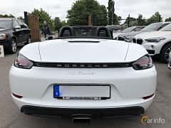 Back of Porsche 718 Boxster 2.0 H4 PDK, 300ps, 2017