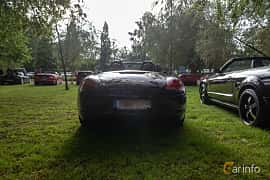 Back of Porsche Boxster S 3.4 H6 Manual, 310ps, 2009 at Billesholms Veteranbilsträff 2019 augusti
