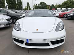 Front  of Porsche 718 Boxster 2.0 H4 PDK, 300ps, 2017