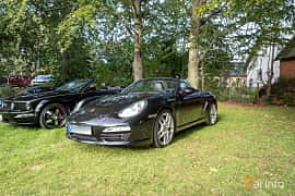 Front/Side  of Porsche Boxster S 3.4 H6 Manual, 310ps, 2009 at Billesholms Veteranbilsträff 2019 augusti
