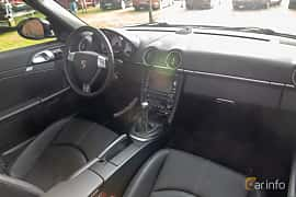 Interior of Porsche Boxster S 3.4 H6 Manual, 310ps, 2009 at Billesholms Veteranbilsträff 2019 augusti