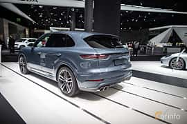 Back/Side of Porsche Cayenne Turbo 4.0 V8 4 TipTronic S, 550ps, 2018 at IAA 2017
