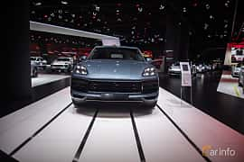 Front  of Porsche Cayenne Turbo 4.0 V8 4 TipTronic S, 550ps, 2018 at IAA 2017