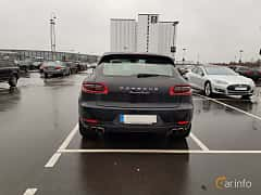 Back of Porsche Macan Turbo 3.6 V6 4 PDK, 400ps, 2017