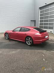 Back/Side of Porsche Panamera GTS 4.8 V8 4 PDK, 430ps, 2013