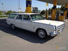 Front/Side  of Rambler Ambassador Station Wagon 5.4 V8 Automatic, 273ps, 1965