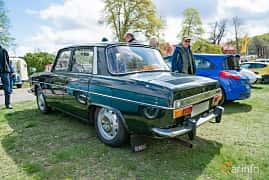 Back/Side of Renault 10 1.1 Manual, 46ps, 1968 at Fest För Franska Fordon  på Taxinge slott 2019