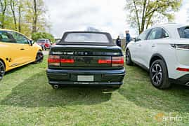 Back of Renault 19 Cabriolet 1.8 Manual, 135ps, 1993 at Fest För Franska Fordon  på Taxinge slott 2019