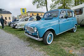 Front/Side  of Renault 4 0.7 Manual, 27ps, 1967 at Fest För Franska Fordon  på Taxinge slott 2019