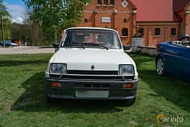 Front  of Renault 5 3-door 1.4 Manual, 64ps, 1983 at Fest För Franska Fordon  på Taxinge slott 2019