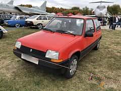 Front/Side  of Renault 5 3-door 1986 at Old Car Land no.2 2019