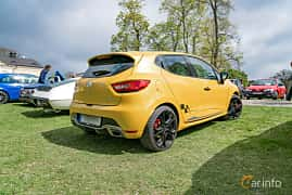 Back/Side of Renault Clio RS 1.6 TCe EDC, 200ps, 2014 at Fest För Franska Fordon  på Taxinge slott 2019