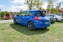 Back/Side of Renault Mégane RS 3-door 2.0 Turbo Manual, 230ps, 2008 at Fest För Franska Fordon  på Taxinge slott 2019