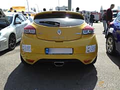 Back of Renault Mégane RS 2.0 TCe Manual, 265ps, 2012 at Ltava Time Attack 1st Stage