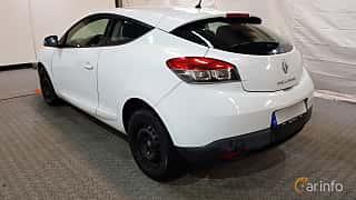 Back/Side of Renault Mégane Coupé 1.6 dCi Manual, 130ps, 2012