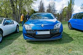 Front  of Renault Mégane RS 2.0 TCe Manual, 250ps, 2011 at Fest För Franska Fordon  på Taxinge slott 2019