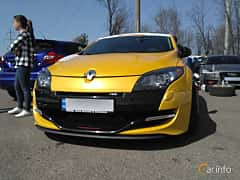 Front  of Renault Mégane RS 2.0 TCe Manual, 265ps, 2012 at Ltava Time Attack 1st Stage