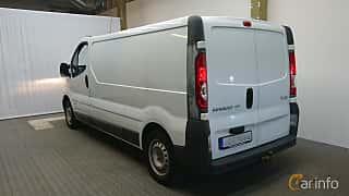 Bak/Sida av Renault Trafic Van 2.0 dCi Manual, 114ps, 2010