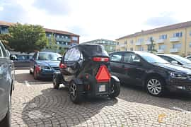Back/Side of Renault Twizy Urban 45 7 kWh Single Speed, 5ps, 2019
