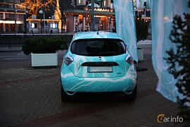 Back of Renault ZOE 41 kWh Single Speed, 109ps, 2018 at eCar Expo Göteborg 2018
