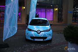 Front  of Renault ZOE 41 kWh Single Speed, 109ps, 2018 at eCar Expo Göteborg 2018
