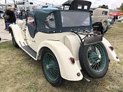 Back/Side of Riley 9 Convertible 1.1 Manual, 29ps, 1933 at Old Car Land no.2 2019