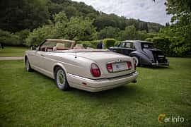 Back/Side of Rolls-Royce Corniche 2-door 6.8 V8 Automatic, 326ps, 2001 at Rolls-Royce och Bentley, Norrviken Båstad 2019