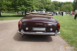 Back of Rolls-Royce Corniche Convertible 6.8 V8 Automatic, 200ps, 1971 at Sofiero Classic 2019