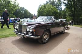 Front/Side  of Rolls-Royce Corniche Convertible 6.8 V8 Automatic, 200ps, 1971 at Sofiero Classic 2019