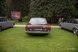 Back of Rolls-Royce Corniche Coupé 6.8 V8 Automatic, 200ps, 1976 at Rolls-Royce och Bentley, Norrviken Båstad 2019