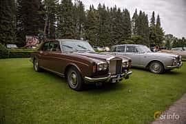 Front/Side  of Rolls-Royce Corniche Coupé 6.8 V8 Automatic, 200ps, 1976 at Rolls-Royce och Bentley, Norrviken Båstad 2019