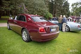 Back/Side of Rolls-Royce Ghost 6.6 V12 Automatic, 570ps, 2010 at Rolls-Royce och Bentley, Norrviken Båstad 2019