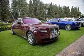 Front/Side  of Rolls-Royce Ghost 6.6 V12 Automatic, 570ps, 2010 at Rolls-Royce och Bentley, Norrviken Båstad 2019