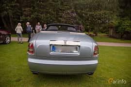 Back of Rolls-Royce Phantom Drophead Coupé 6.7 V12 Automatic, 460ps, 2009 at Rolls-Royce och Bentley, Norrviken Båstad 2019