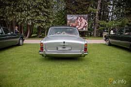 Back of Rolls-Royce Silver Shadow 4-door 6.2 V8 Automatic, 178ps, 1968 at Rolls-Royce och Bentley, Norrviken Båstad 2019
