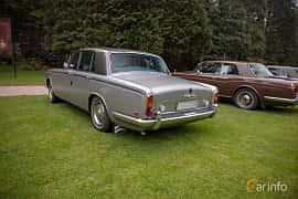Back/Side of Rolls-Royce Silver Shadow 4-door 6.8 V8 Automatic, 200ps, 1970 at Rolls-Royce och Bentley, Norrviken Båstad 2019