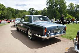 Back/Side of Rolls-Royce Silver Shadow 4-door 6.2 V8 Automatic, 178ps, 1969 at Sofiero Classic 2019