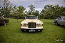 Front  of Rolls-Royce Silver Shadow 4-door 6.8 V8 Automatic, 200ps, 1980 at Rolls-Royce och Bentley, Norrviken Båstad 2019