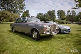Front/Side  of Rolls-Royce Silver Shadow 4-door 6.2 V8 Automatic, 178ps, 1969 at Rolls-Royce och Bentley, Norrviken Båstad 2019