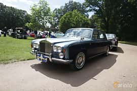Front/Side  of Rolls-Royce Silver Shadow 4-door 6.2 V8 Automatic, 178ps, 1969 at Sofiero Classic 2019