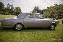 Side  of Rolls-Royce Silver Shadow 4-door 6.2 V8 Automatic, 178ps, 1969 at Rolls-Royce och Bentley, Norrviken Båstad 2019
