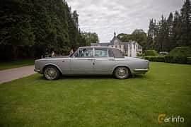 Side  of Rolls-Royce Silver Shadow 4-door 6.8 V8 Automatic, 200ps, 1970 at Rolls-Royce och Bentley, Norrviken Båstad 2019