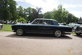 Side  of Rolls-Royce Silver Shadow 4-door 6.2 V8 Automatic, 178ps, 1969 at Sofiero Classic 2019