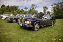 Front/Side  of Rolls-Royce Silver Spirit 6.75 V8 Automatic, 300ps, 1997 at Rolls-Royce och Bentley, Norrviken Båstad 2019