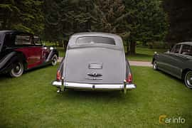 Back of Rolls-Royce Silver Wraith 4.3 Manual, 137ps, 1957 at Rolls-Royce och Bentley, Norrviken Båstad 2019